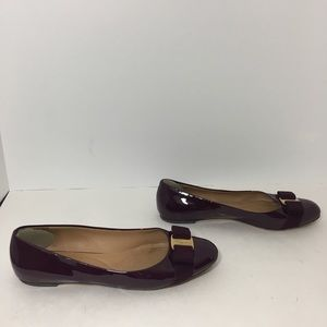 Salvatore Ferragamo Shoes - Salvatore Ferragamo Ballet Flats Patent Leather